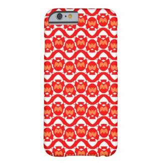 Orange-Red Design on iPhone 6 Barely There Case Barely There iPhone 6 Case