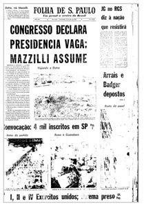 press - folha - 2 de abril de 1964