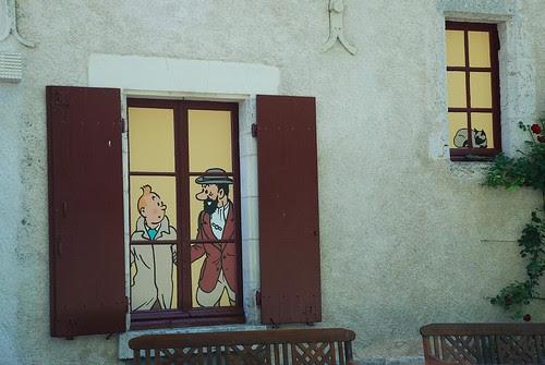 Tintin et Moulinsart