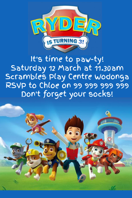 paw patrol party invitation poster template 7c2f5ceca314ce1cddcf58378f71d3a7_screen