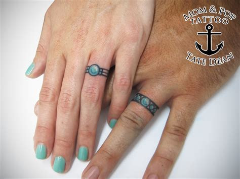 Wedding bands Tattoos