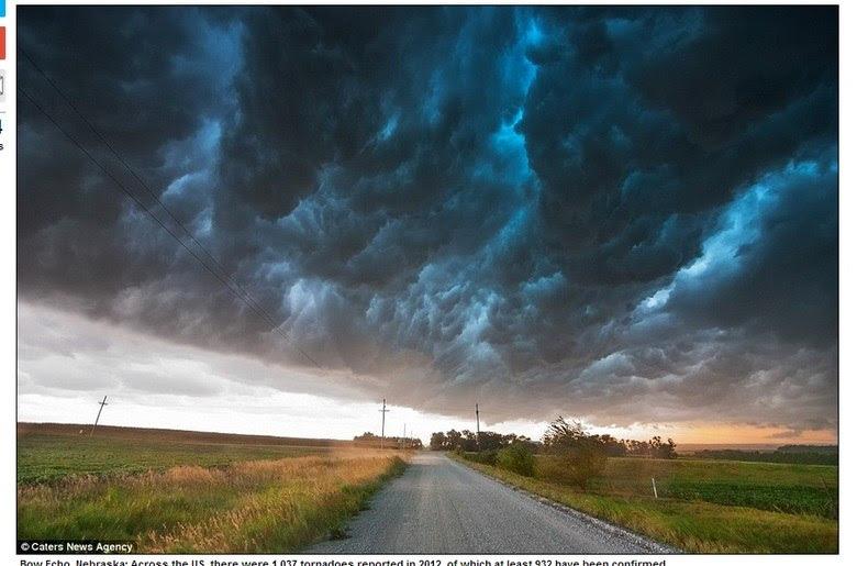 Ele diz que aprecia as tempestades porque elas estão 'vivas'