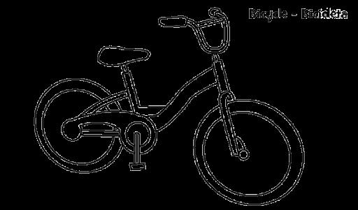 Mewarnai Gambar Sepeda Anak Tk Aquita Web