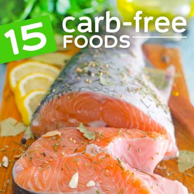 carb free foods