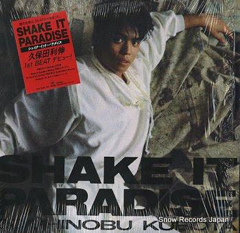 KUBOTA, TOSHINOBU shake it paradise