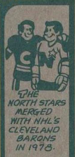North Stars Barons cartoon
