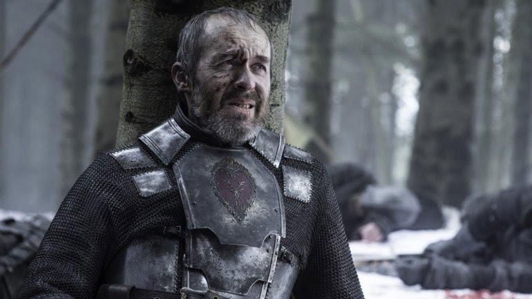Stannis Baratheon es asesinado en la serie Game of Thrones