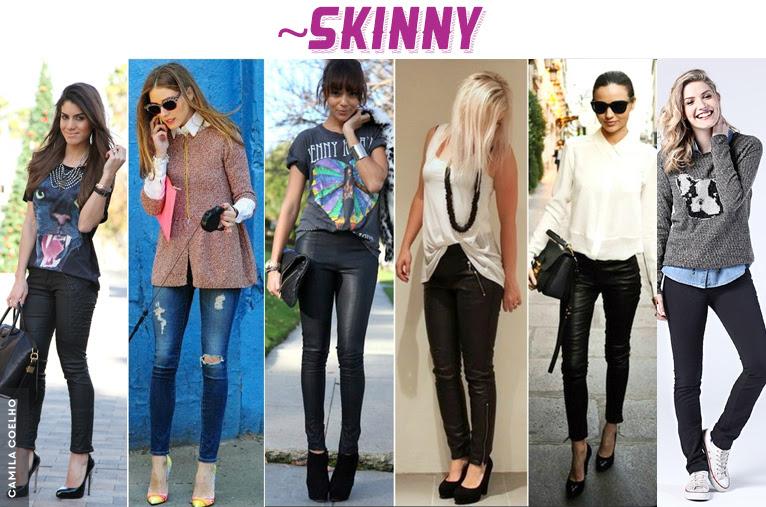 Resultado de imagem para calca skinny look