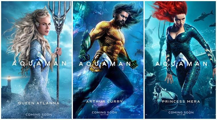 Aquaman Original Movie Poster Klewer Mm