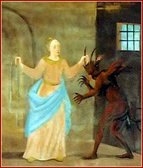 SANTA JULIANA, Virgen y Mártir