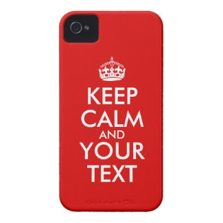 Keep Calm Customizable Saying Add Your Text