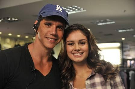 Sophie Charlotte e Márcio Garcia