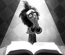 Fotograma de 'Vincent', de Tim Burton.