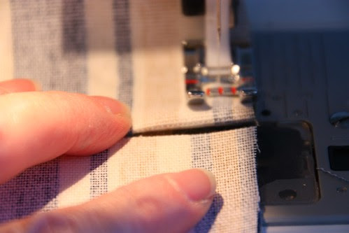 4 - Production sew side seams