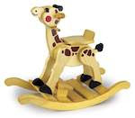 Giraffe Rocker Woodworking Plan - fee plans from WoodworkersWorkshop® Online Store - giraffe rockers,childrens toys, rocking animals,full sized patterns,woodworking plans,woodworkers projects,blueprints,drawings,blueprints,how-to-build,MeiselWoodHobby