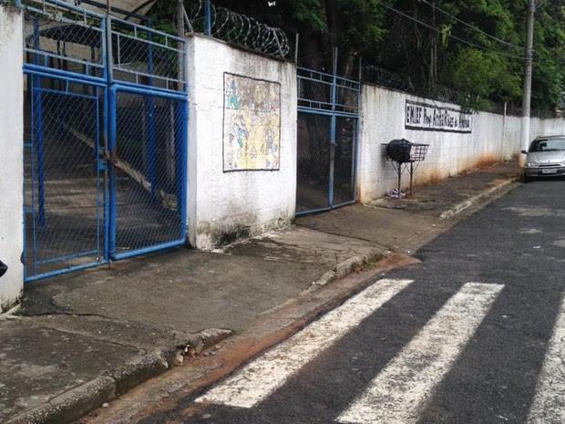 Escola furtada no Três Marias, Taubaté (Foto: Rauston Naves/Arquivo Pessoal)