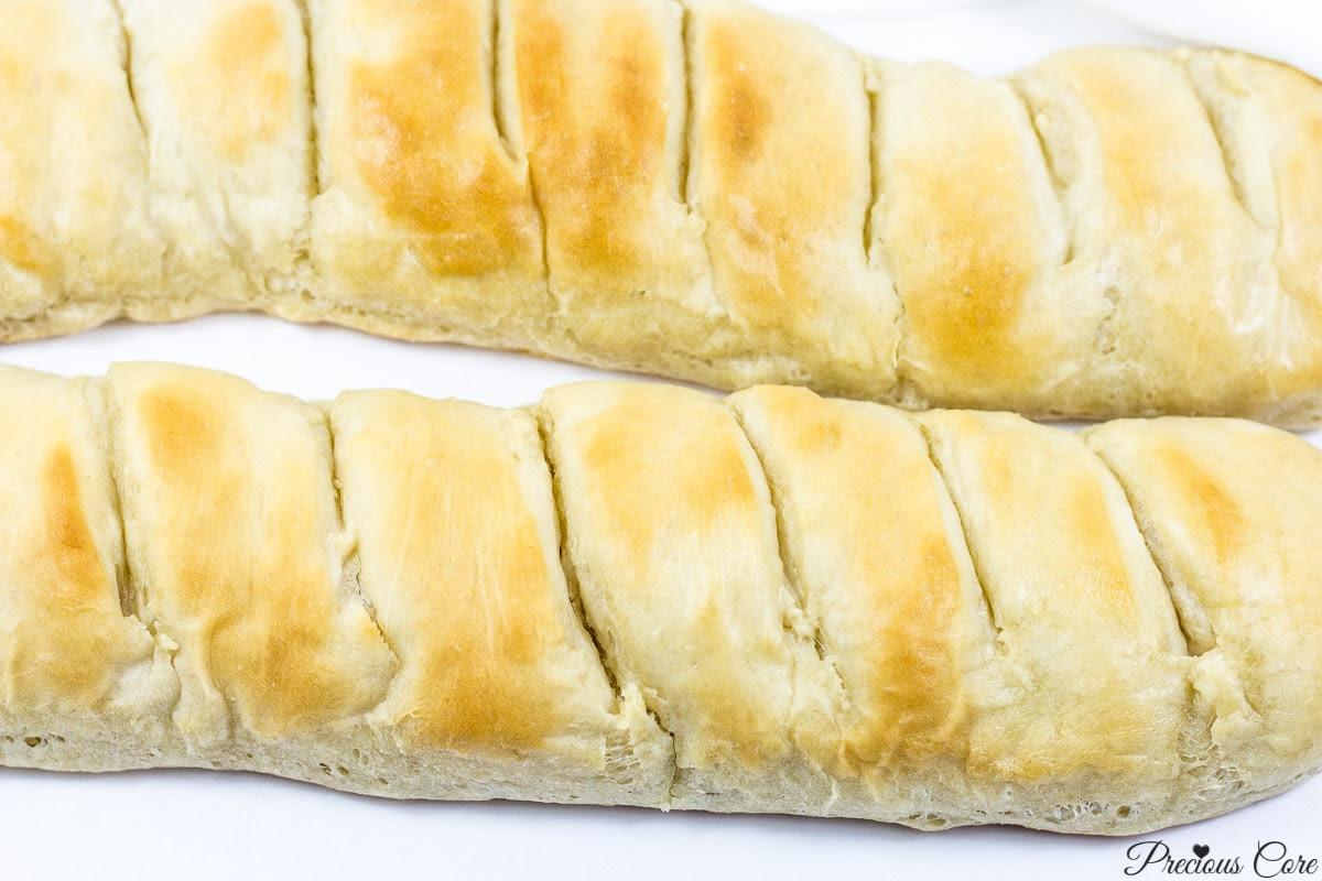 EASY HOMEMADE FRENCH BREAD | Precious Core