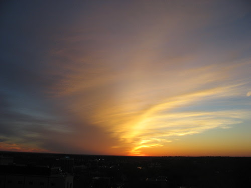 a blaze of glory across the skies. by freestone