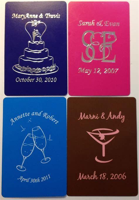 Custom Wedding Playing Cards » AdMagic