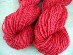 Dyed Lionbrand Fisherman's Wool