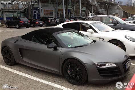 Audi R8 V10 Spyder 25 Februar 2013 autogespot