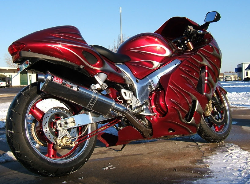 Need 2002 Busa Wiring Diagram For Sandrail Application
