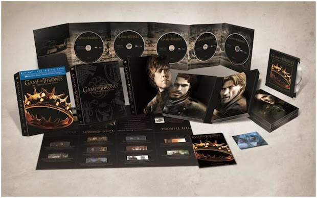 Game of Thrones Season Two Bluray set arrives February 19th