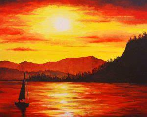 95 Gambar Pemandangan Pantai Sunset Yang Mudah Digambar Hd Terbaik Gambar Pemandangan