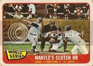 #134 World Series Game 3: Mantle's Clutch HR
