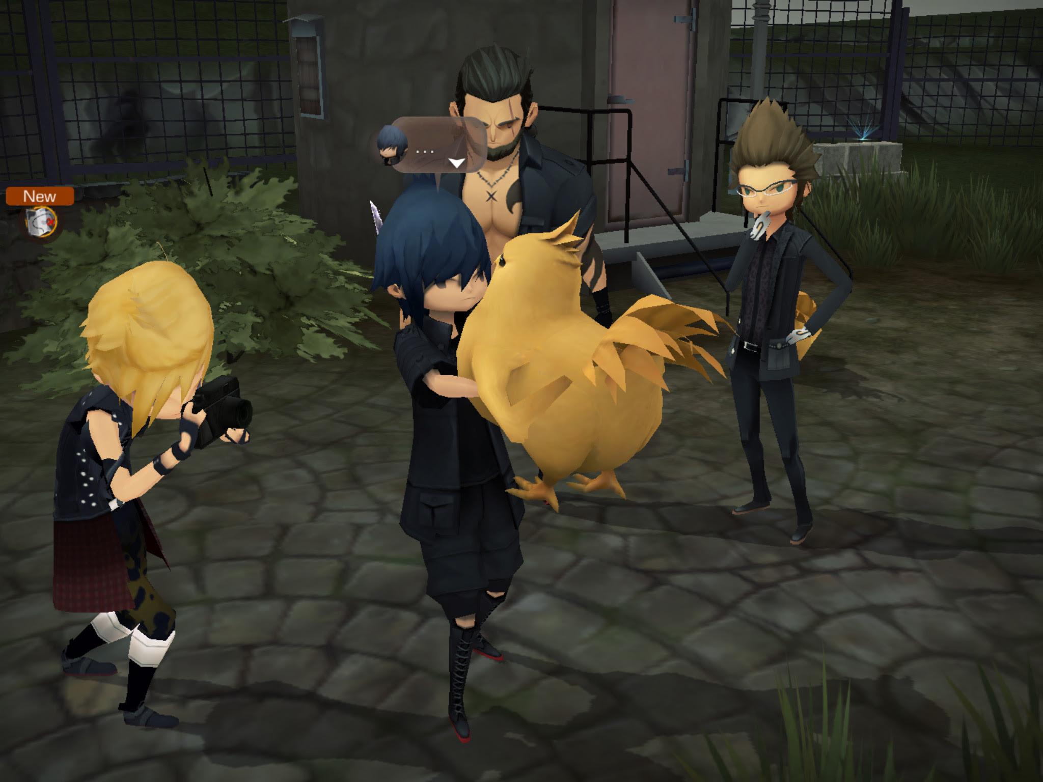 Review: Final Fantasy XV: Pocket Edition screenshot