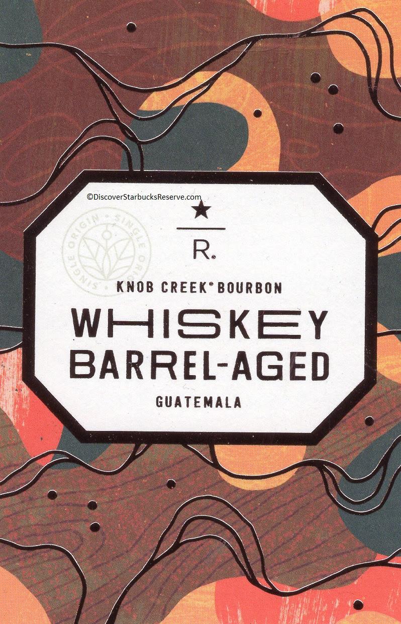 Whiskey Barrel Aged Guatemala Discover Starbucks Reserve