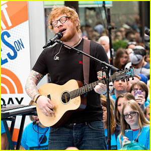 Ed Sheeran Performs All His Hit Songs on 'Today' (Video)