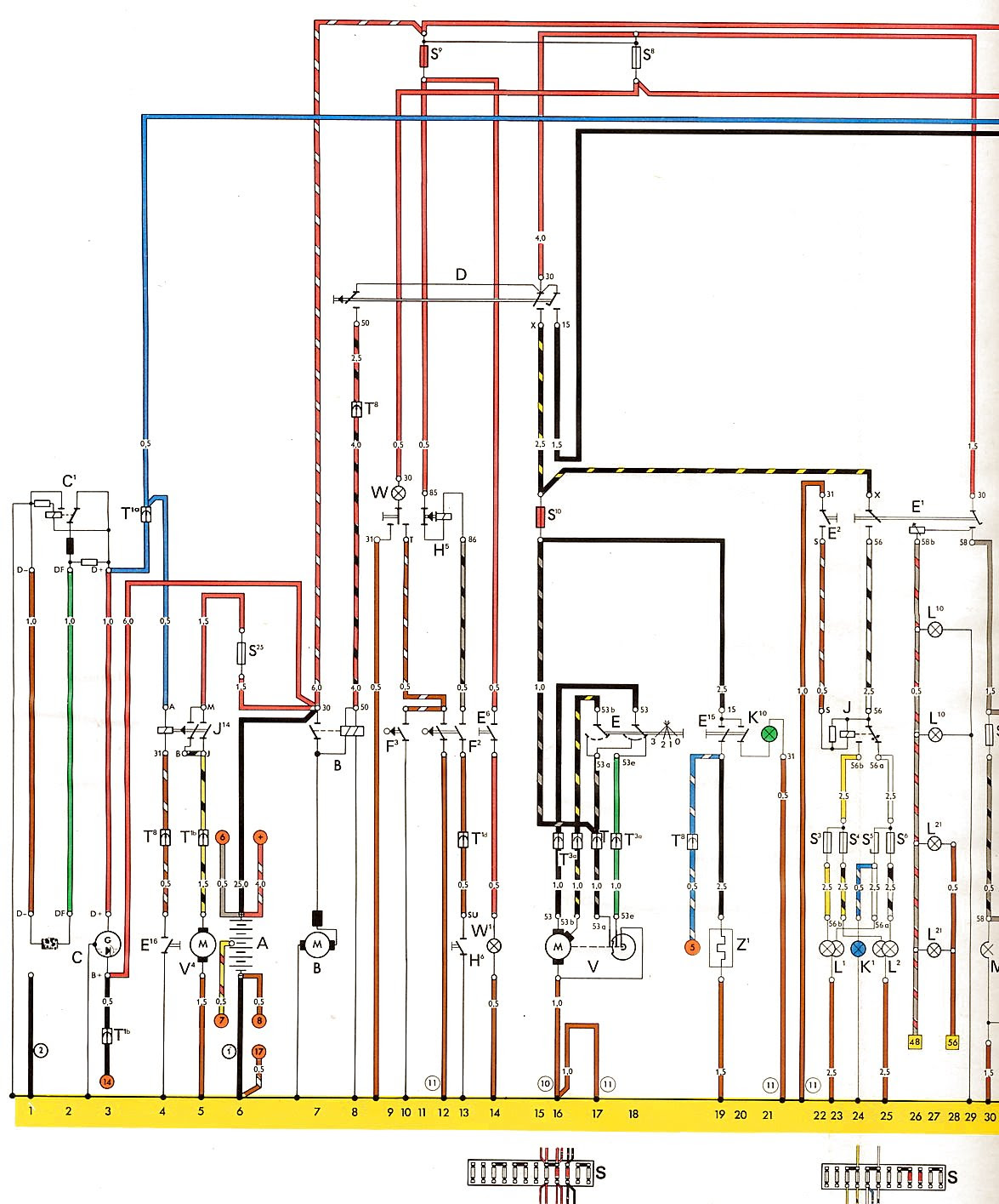 D5a01 Vw T2 Wiring Diagram 1973 Wiring Library