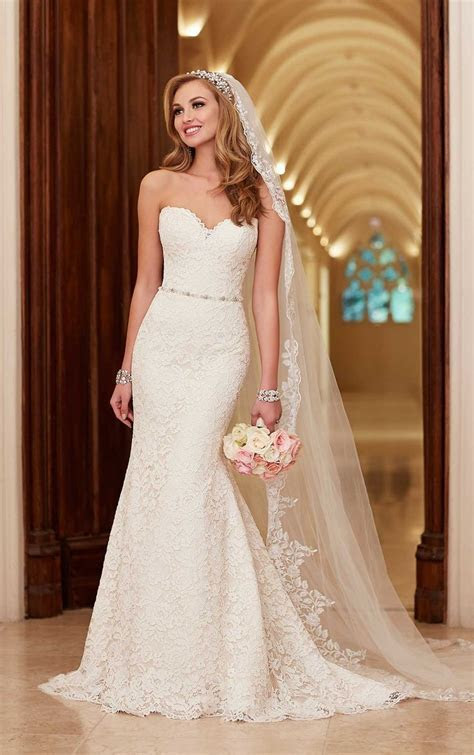 25  best ideas about Satin Wedding Dresses on Pinterest