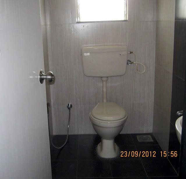 Toilet - show flat of Pristine City, 20 Acre Township of 1 BHK & 2 BHK Flats at Bakori - Wagholi, Pune 412 207