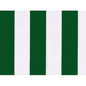 Green and white stripe polyester cover for 3m x 2.5m awning ...