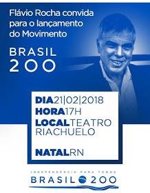 Flávio Rocha lança movimento hoje (21) em Natal