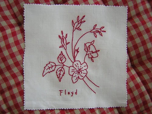 Rose Twigs Floyd Block