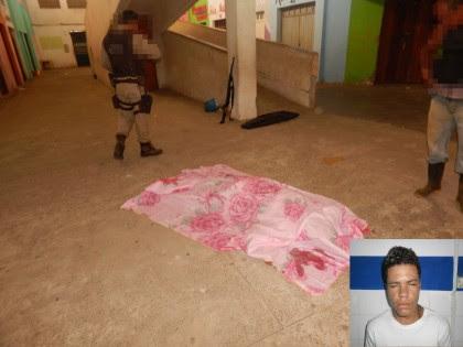 Gabriel foi morto no Mercado Municipal (Foto: Ubatã Notícias)