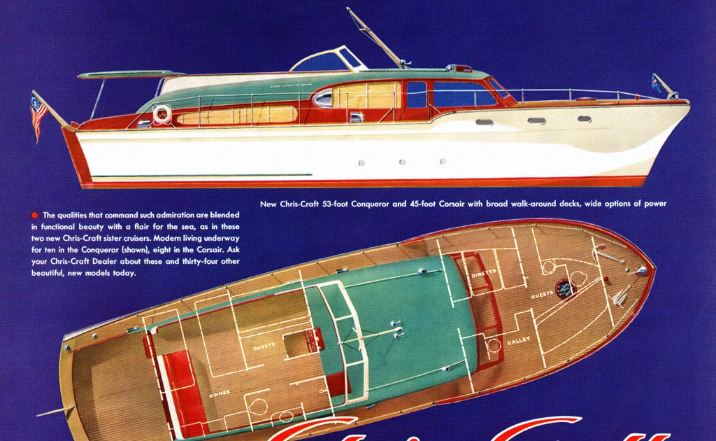 One secret: Chris craft style boat plans
