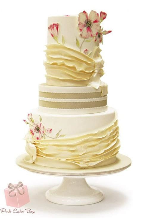 Save Vs Splurge Wedding Cake » Spring Wedding Cakes