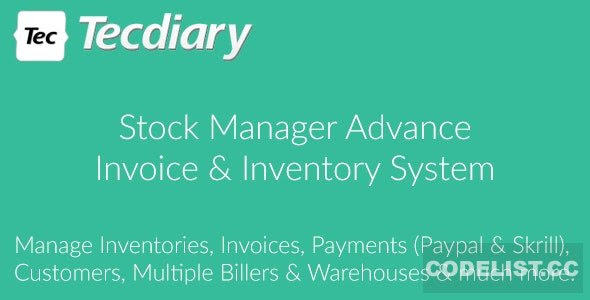 Stock Manager Advance (Invoice & Inventory System) v3.4.38