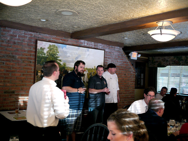 Parkers Blue Ash Tavern Craft Beer Dinner Pairing