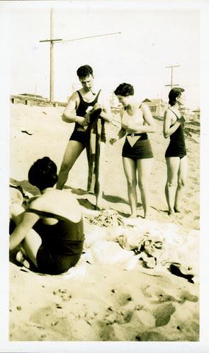 Gang at the beach