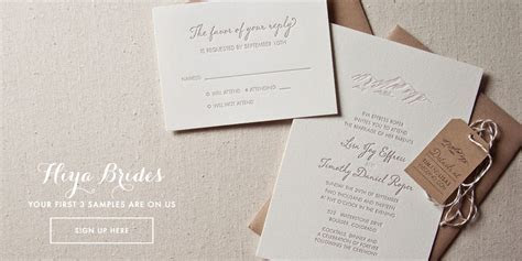 SWEET Letterpress & Design, Wedding Invitations