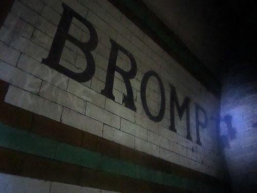 Brompton Road Platform 1