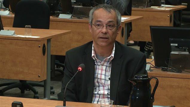 Bruno Lortie, ex-chef de cabinet de Nathalie Normandeau.
