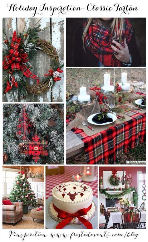 Christmas Holiday Inspiration Classic Tartan Plaid