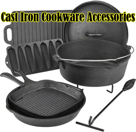 via0.com - Top 10 Cast Iron Cookware Accessories for Easy Cooking, Cleaning, and Maintenance