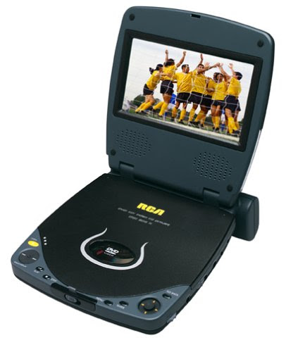 Audiovox D1501 5.8 Portable DVD Player